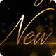 Happy New Year Golden Greetings Text in English Spanish French German - VideoHive Item for Sale