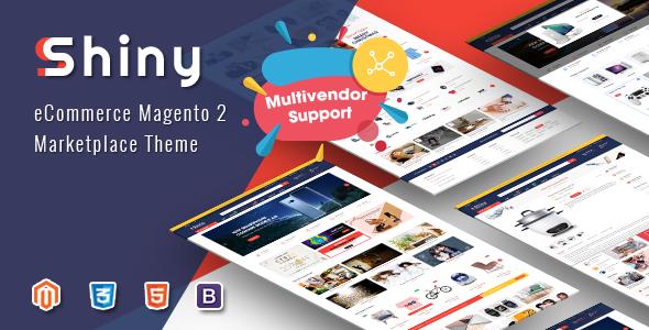 Shiny – Responsive Magento 2 Marketplace Theme