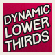 Dynamic Lower Thirds - VideoHive Item for Sale