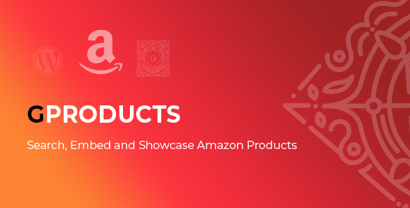 GProducts - Amazon Affiliates Products Boxes Block