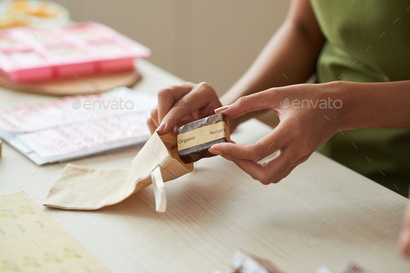 Packing soap - Stock Photo - Images