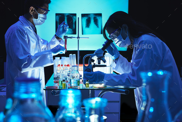 Developing vaccine - Stock Photo - Images