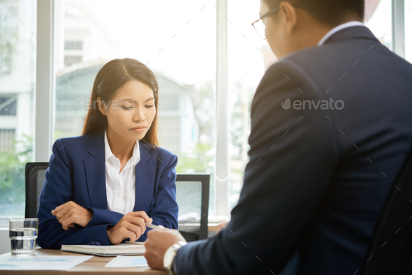 Checking agreement - Stock Photo - Images