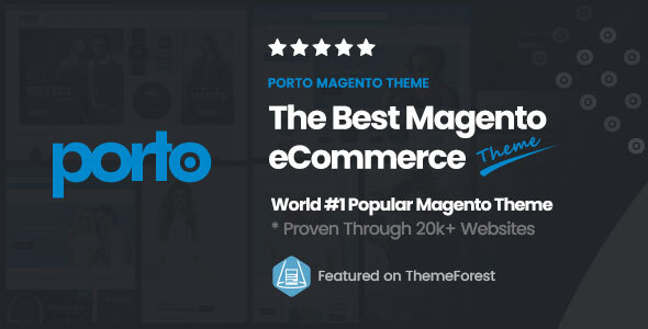 Porto | Ultimate Responsive Magento Theme Nulled