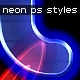 Neon Styles 6 colors  - GraphicRiver Item for Sale