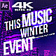 Winter Music Afterparty V2 - VideoHive Item for Sale