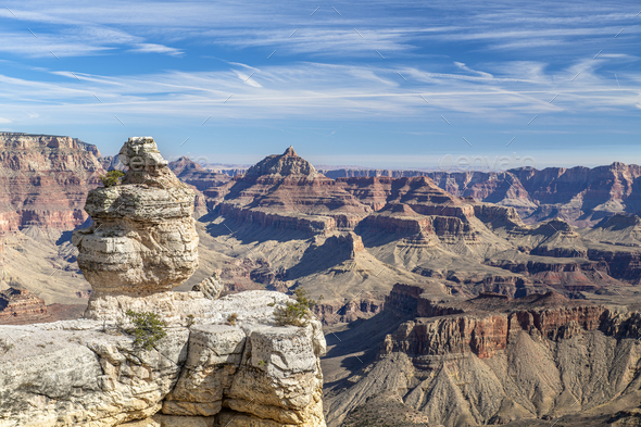 Grand Canyon Donald Duck Rock - Stock Photo - Images