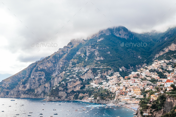 Positano village - Stock Photo - Images