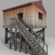 Wooden Shack - 3DOcean Item for Sale