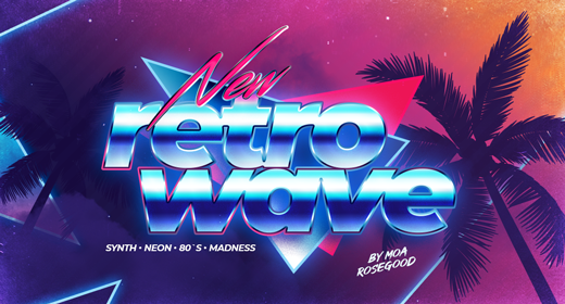 Retrowave • Synthwave • 80`s