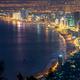 Panoramic view of Da Nang City at night, Vietnam - PhotoDune Item for Sale