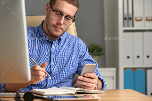 Checking reminder - Stock Photo - Images