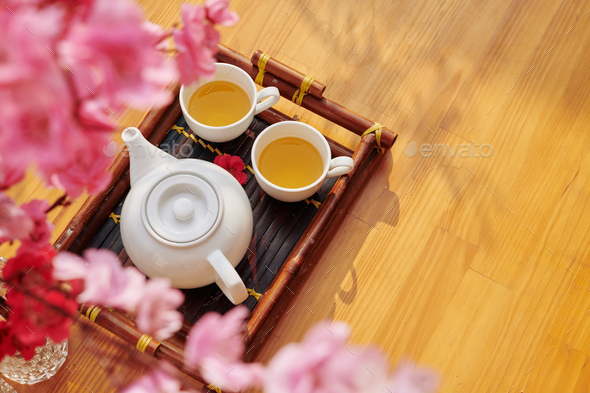Tea for Lunar New Year - Stock Photo - Images