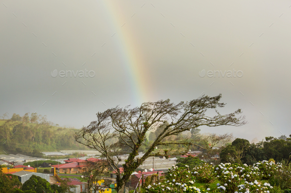 Costa Rica landscapes - Stock Photo - Images