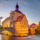 Illuminated historic town hall of Bamberg - PhotoDune Item for Sale