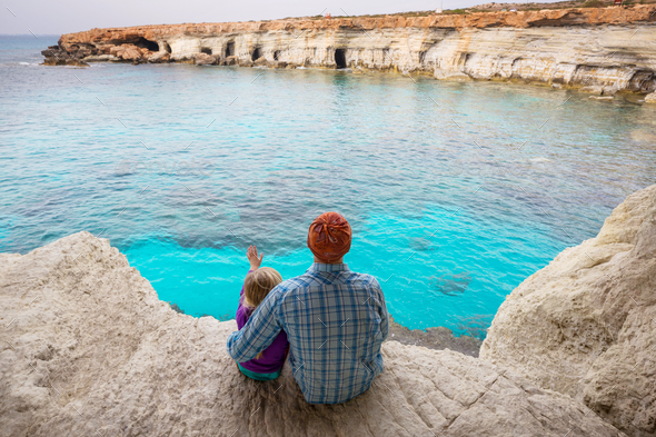 Father and daughter together - Stock Photo - Images