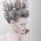 Imagination. Woman with Updo - PhotoDune Item for Sale