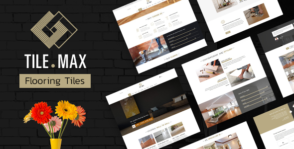 TileMax - Tiling, Flooring WordPress Theme