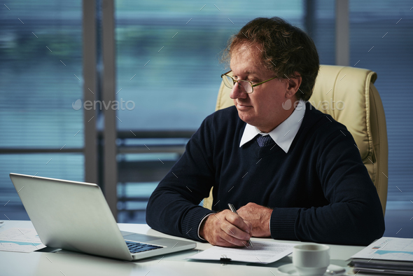 Working on new strategy - Stock Photo - Images
