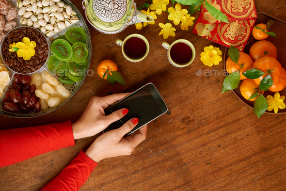 Sending Tet messages - Stock Photo - Images