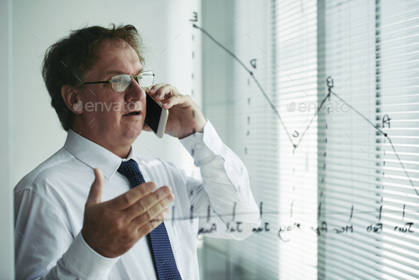 Consulting on the phone - Stock Photo - Images