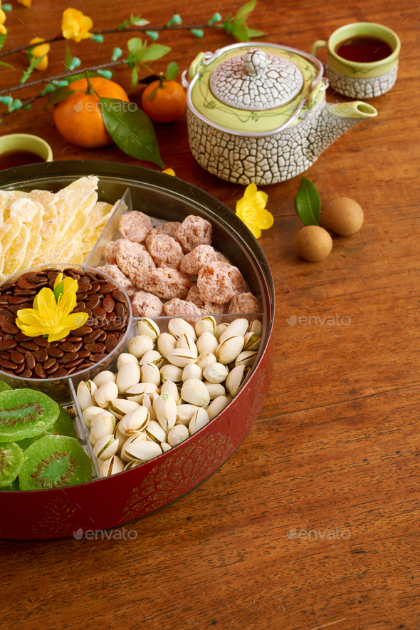 Box with sweet snacks - Stock Photo - Images