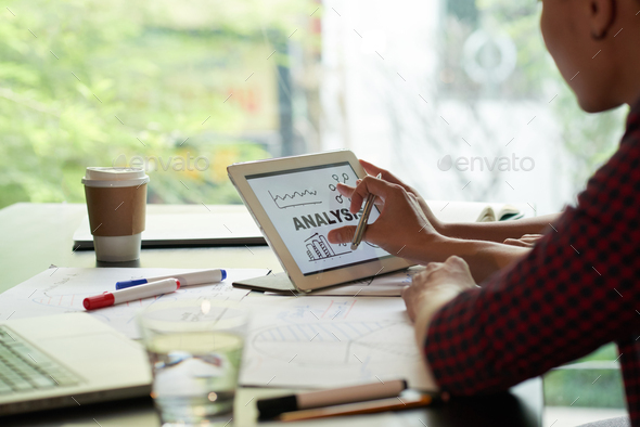 Examining analysis - Stock Photo - Images