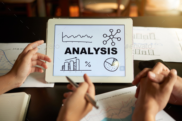Presenting analysis - Stock Photo - Images