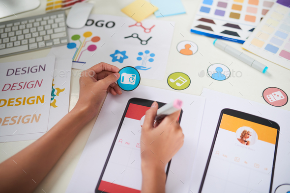 Visualization of Creative Business Ideas - Stock Photo - Images