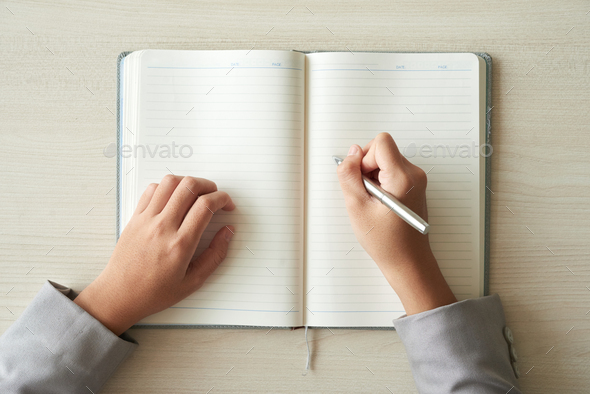 Filling planner - Stock Photo - Images