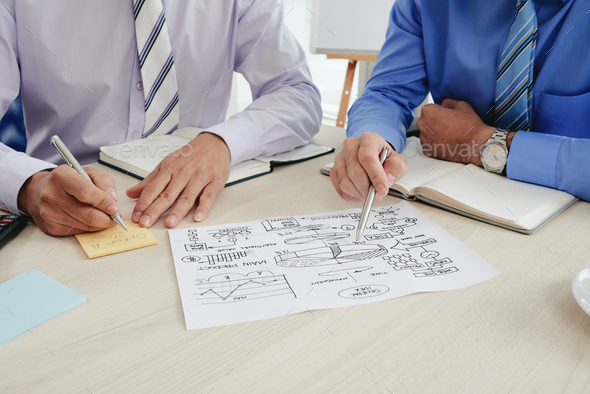 Discussing options for new business - Stock Photo - Images