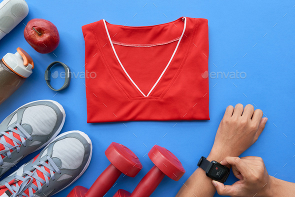Ready for training - Stock Photo - Images