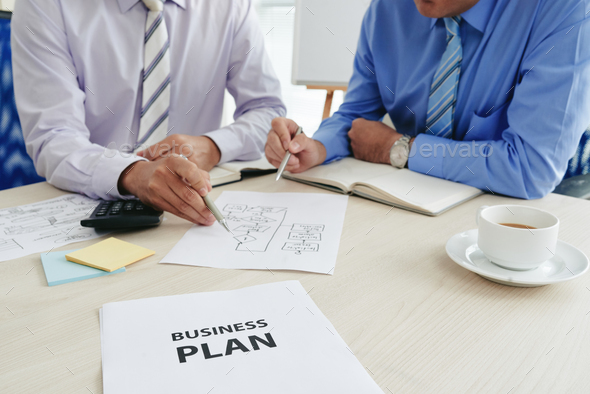 Creating business plan - Stock Photo - Images