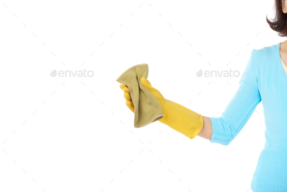 Housecleaning at Full Speed - Stock Photo - Images
