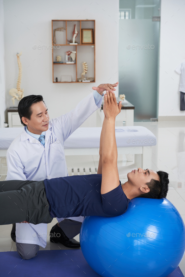 Physiotherapy - Stock Photo - Images