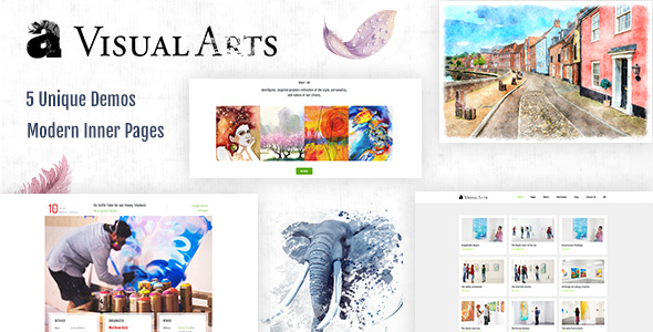 Visual Art | Gallery Theme