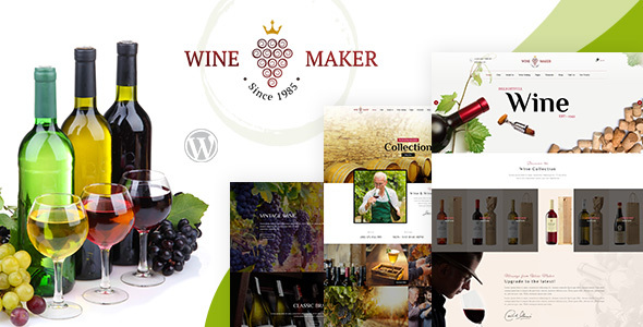 Wine Maker - Winery WordPress Shop