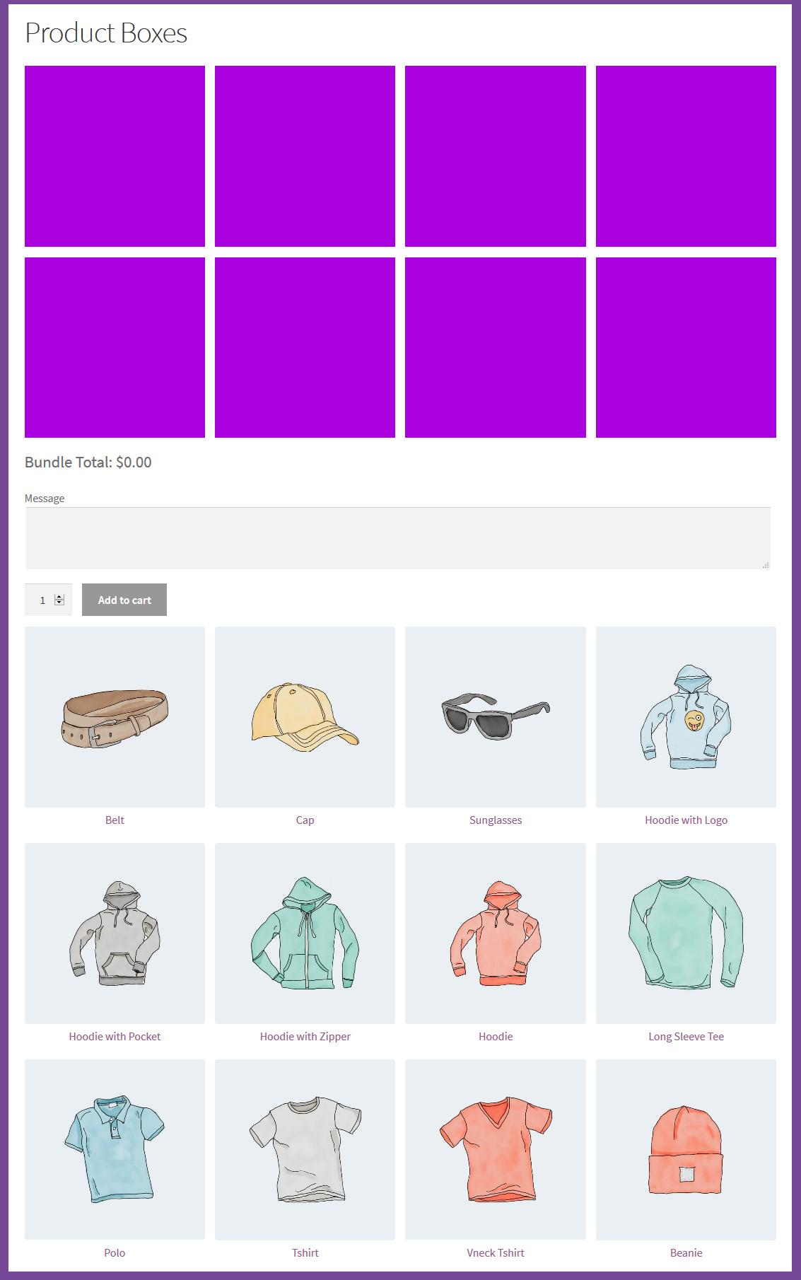 WooCommerce Mix & Match - Product Bundles Plugin - 3