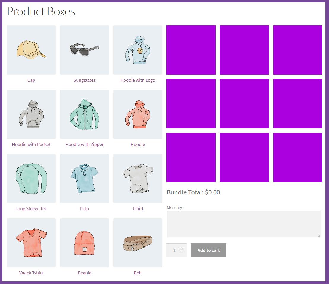 WooCommerce Mix & Match - Product Bundles Plugin - 2