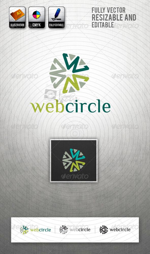 WebCircle (WWW) Logo Template - Symbols Logo Templates