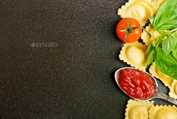 ravioli - Stock Photo - Images