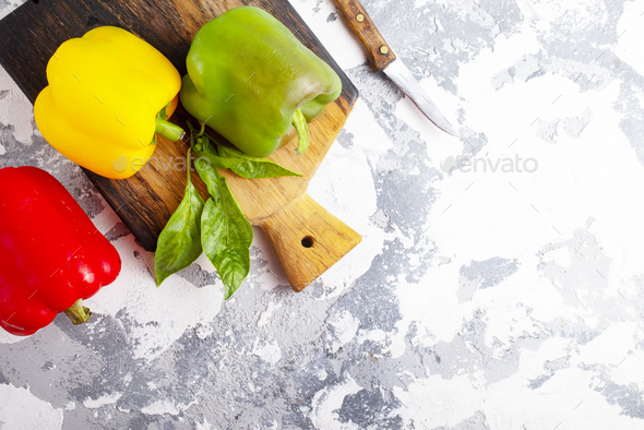 color pepper - Stock Photo - Images