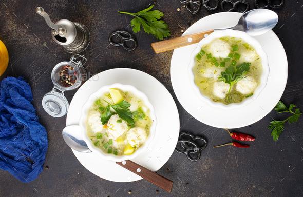 fresh soup - Stock Photo - Images