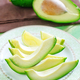 avocado on plate - PhotoDune Item for Sale