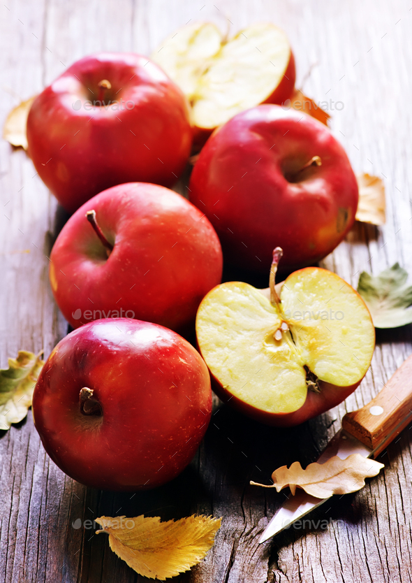 red apples - Stock Photo - Images