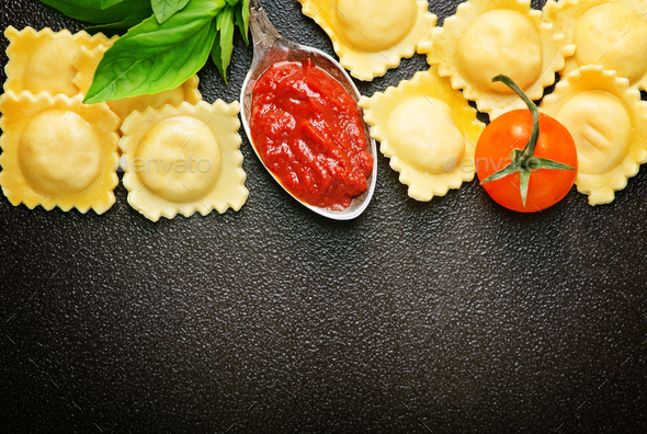 ravioli - Stock Photo - Images