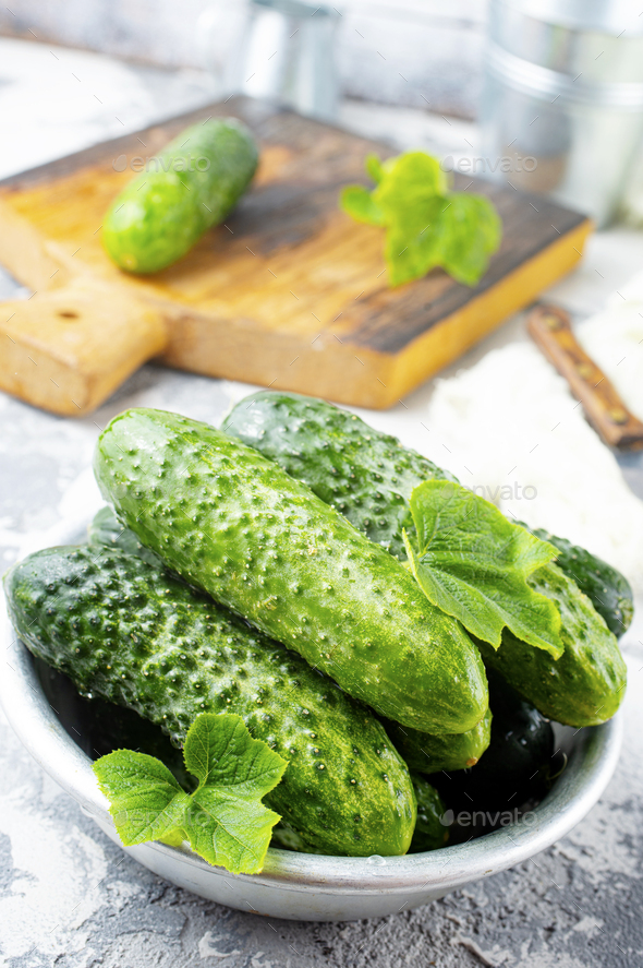 cucumbers - Stock Photo - Images