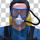 Scuba Diver Floating - VideoHive Item for Sale