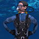 Scuba Diver Underwater Gangnam Style Dance - VideoHive Item for Sale
