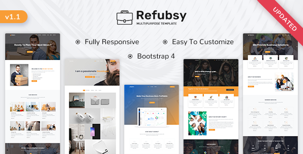 Refubsy - Creative Multipurpose Template by ShreeThemes